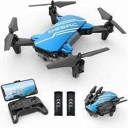 DEERC D20 Mini Drone with 720P Camera for Kids Remote Control Gifts 2*Battery $49.98