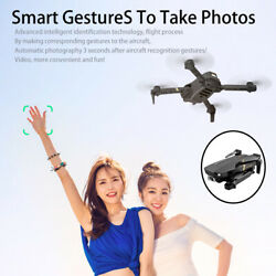 2021 V4 RC Drone WiFi Mobile Phone Control FPV Quadcopter One Key Start $56.39