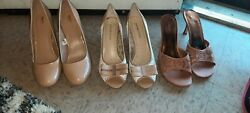 Womens Dress Shoes Size 8Lot of 3 pair $9.00