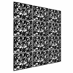LRZCGB Hanging Room Divider12pcs Safety PVC Screen Panel with Butterfly Flower $51.52