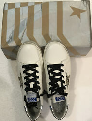 Golden Goose GGDB HI Star High Top Suede White Leather Size US $299.99