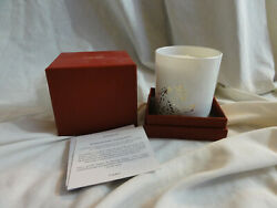 NEW CARTIER Bougie Parfumee SCENTED CANDLE White with Silver Panther $149.99