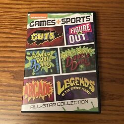 Nickelodeon Games Sports All Star Collection 2014 DVD Double Dare Guts Arcade $49.99