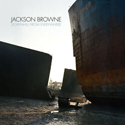 Downhill From Everywhere by Jackson Browne Record 2021 $20.00