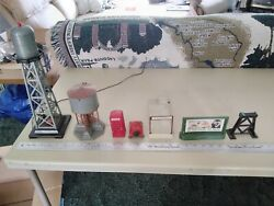 Vintage Train Track Miniatures And Pieces $25.00