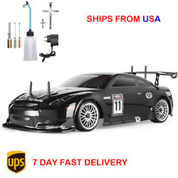 1:10 Flying Fish HSP Racing RC Nitro Gas Car 4WD On Road Two Speed Drift Toy 4x4 $319.99