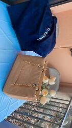 chanel bag authentic used light beige color quot;shopping bagquot; good condition.
