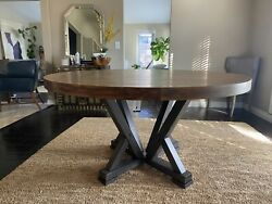 """Dining Room Table 60"""" Round Brand new $1450.00"""