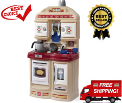 Cozy Kitchen Small Play Kitchen For Toddlers Kids Kitchen Playset for Ages 2 $64.00
