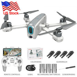 FPV Quadcopter HD Camera Aircraft Foldable RC Drone Selfie Toy Flip3 Battery $155.54