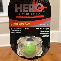 Hero Innovations In Play Squeakables Squeaky Ball For 10 25lbs Dog Dog Toy $7.99