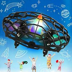 UFO Drones for Kids Hand Controlled Drone Toy Indoor Outside with LED Colorful $36.14