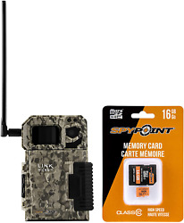 SPYPOINT Link Micro with 16GB Microsd Smallest on the Market Wireless Cell Tr $155.99