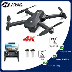 HS175 RC Drone with 5G FPV 4K HD Camera Brushless Quadcopter GPS 40 Min Fly Case $179.60