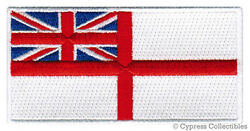 BRITISH ROYAL NAVY FLAG PATCH embroidered iron on UK Great Britain MILITARY new $4.99