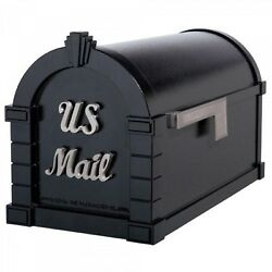 Keystone Mailbox - Signature Design - Gaines Aluminum Mail Box - Optional Post