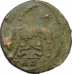 Constantine I the Great 333AD Romulus Remus She-Wolf Rome Roman Coin i34409