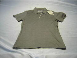 CUTTER amp; BUCK CB Dry Tec Ladies 3 Button Polo HESS GLOBAL COMMERCIAL Logo Size m