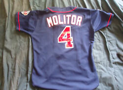 1997 Paul Molitor Game Used Worn Jersey Twins LOA Vintage Authentics Lampson $1230.00
