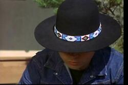 Replica BILLY JACK HAT & BEADED HATBAND - Wool Felt  Woolfelt - Natani Nez