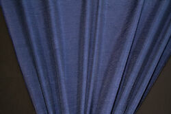 45quot; Navy Crinkled Satin HOME DECOR Fabric SALE FABRIC 10 Yards $29.95