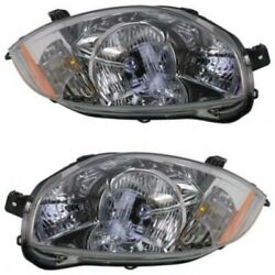 Halogen Headlight Lamp Assembly Pair LH amp; RH Sides for Mitsubishi Eclipse $119.43
