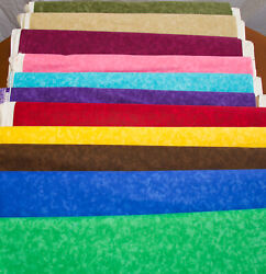 Quilter's Blender Fabric- 100% Cotton - 25+ Colors - By the Yard $5.99