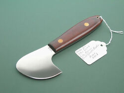 JIMMY LILE KNIFE  NO DOT  LEATHER TOOL MADE FOR JOHN LAMB  PROVENANCED 1-ONLY