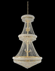 New! Crystal Chandelier Chandeliers Lighting 36