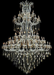 New Crystal Chandelier Maria Theresa 85 Lts 72quot;X96quot; $11176.06