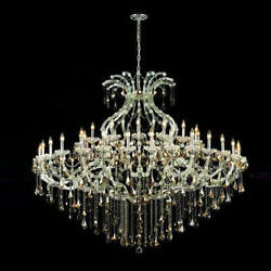 New! Crystal Chandelier Maria Theresa Chrome 72x60 $7,527.09