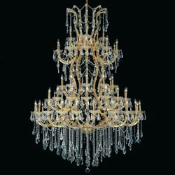 New Crystal Chandelier Maria Theresa Gold 61Lts 54X72