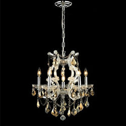 New! Crystal Chandelier Maria Theresa Chrome 20x25 $673.34