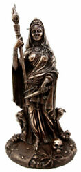 Greek Goddess Magic Witchcraft Necromancy Hekate Hecate With She Dogs Figurine
