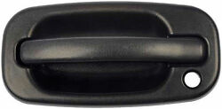 Front Outside Door Handle Textured Black - Driver Side Fits Silverado # 15034985