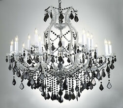 MARIA THERESA CHANDELIER CRYSTAL LIGHTING H38quot; x W37quot; W COLOR CRYSTAL $759.03