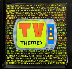 TV Band - TV Themes LP VG+ Fever-9 Stereo Private Disco Funk Vinyl Record