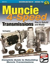 Muncie 4 Speed Transmission Book Rebuild Restore Modify M20 M21 M22 Manual Book