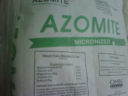 44 POUNDS AZOMITE FINE POWDER ORGANIC ROCK DUST MINERAL NATURAL TRACE ELEMENTS $56.95