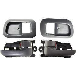Interior Door Handle Kit For 1998-2003 Toyota Sienna Front Left and Right 4Pc