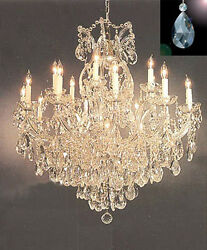 Maria Theresa Crystal Chandelier Lighting Chandeliers Dressed with  Diamond Cut $548.99