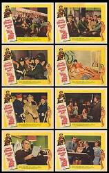 TAKE HER SHE'S MINE original 1963 11x14 lobby card set JAMES STEWARTSANDRA DEE