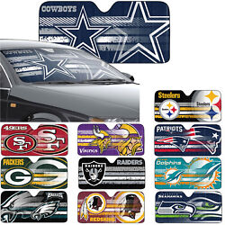 New NFL All Team Car Truck Windshield Folding Front Window Sun Shade Large Size $22.47