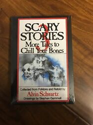 Scary Stories to Tell in the Dark SET of 3 books by Alvin Schwartz NEW