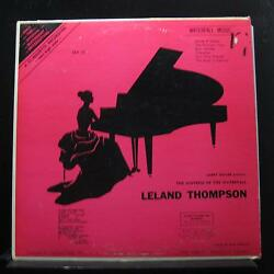 Miss Leland Thompson - Waterfall Music LP VG+ SLP 15 Mono Private Vinyl Record