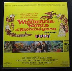 Various - The Wonderful World Of The Brothers Grimm LP Mint- S1E3 wBook Record