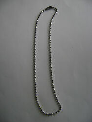 Stainless Steel 2mm Ball Chain 16 Inch Necklace New