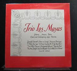 Gilberto Arturo Pedro - Trio Los Mayas LP New Sealed Private Vinyl Record