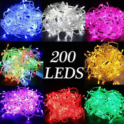 200 LEDs Christmas Tree Fairy String Party Lights Lamp Xmas Waterproof $8.59