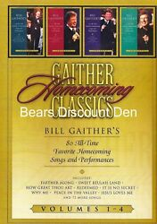 Gaither Homecoming Classics (Volumes 1-4 ) 80 songs NEW DVD